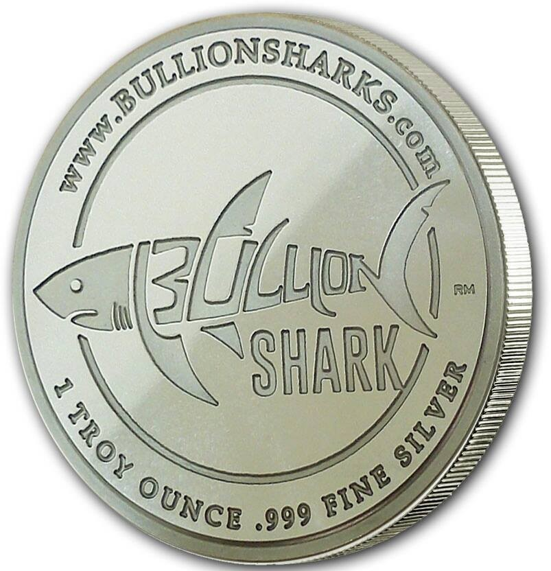 Bullion Shark Offers Stunning Privately Minted Bullion